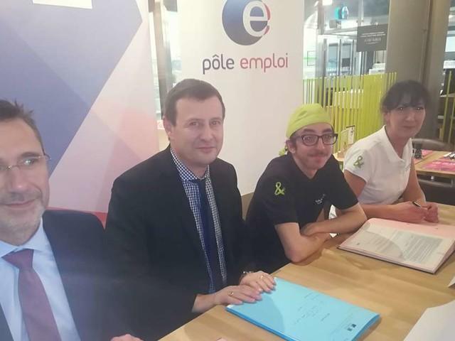 Bordeaux : un premier emploi franc signé dans un restaurant