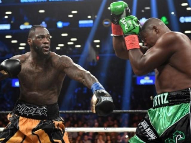 Boxe: Wilder laisse passer l'orage Ortiz