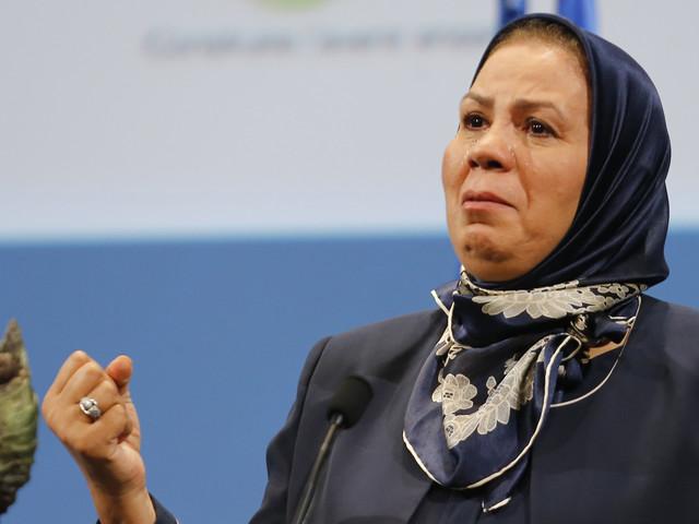 Prix Nobel de la paix: la candidature de Latifa Ibn Ziaten présentée par une association française