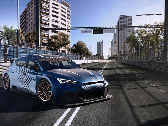 Cupra e-Racer, toutes les photos de cette Leon 100 % électrique de 680 chevaux