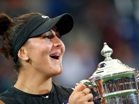 """US Open: Andreescu a """"imaginé ce moment presque tous les jours"""""""