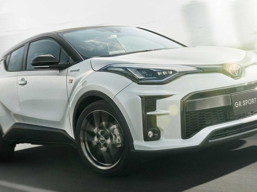 Toyota : le C-HR enfile la tenue Gazoo Racing au Japon