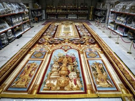 Notre-Dame: le tapis de Louis-Philippe sauvé des eaux