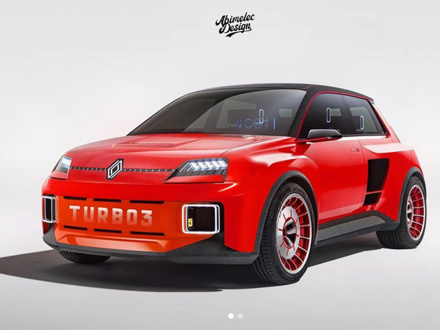 Renault 5 Turbo 3 : un designer imagine la future R5 version Sport !