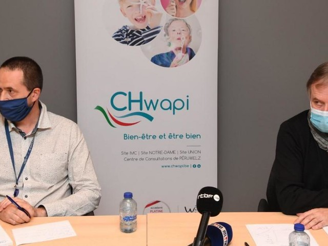 Cyberattaque au CHwapi de Tournai: «Nous sommes toujours coupés du monde»