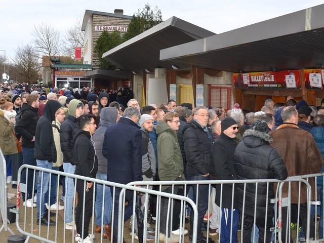 En Coupe de France, les places pour FC Rouen-Angers se sont arrachées