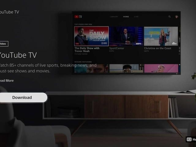 PS5 : Youtube TV arrive sur la console de Sony