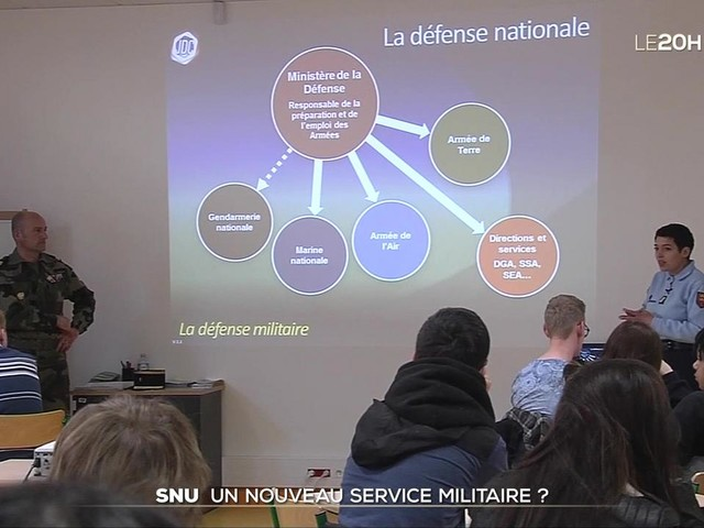 Service national universel : un nouveau service militaire ?