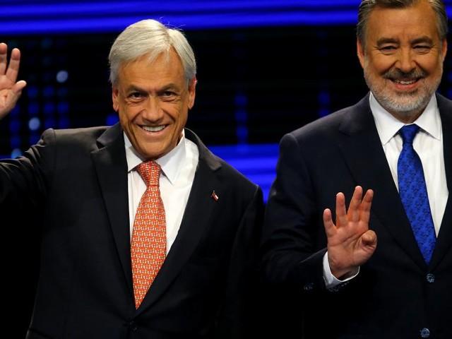 Présidentielle au Chili: Pinera et Guillier s'affronteront au second tour