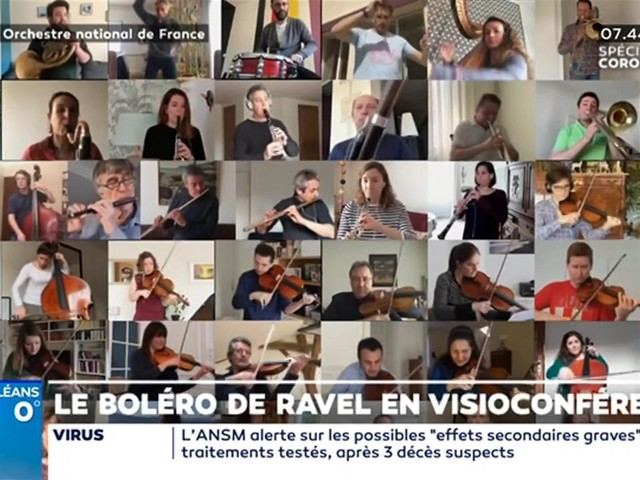 """""""Emmenez-Moi"""" : Le boléro de Ravel en visioconférence"""
