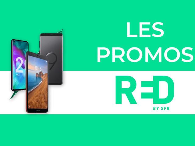 RED by SFR lance une nouvelle promo smartphone sur le Galaxy S9 !