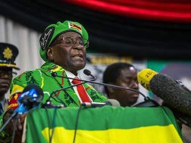 """L'OMS """"annule"""" la nomination de Mugabe comme ambassadeur de bonne volonté"""