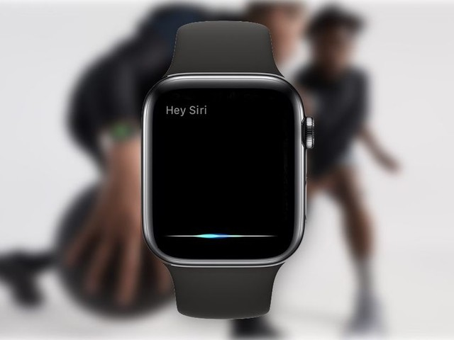 Siri s'anime en fonction de la voix de l'utilisateur sur l'Apple Watch Series 4