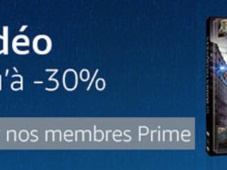 Bon plan – La semaine de la vidéo sur Amazon: jusqu'à 30% de remise