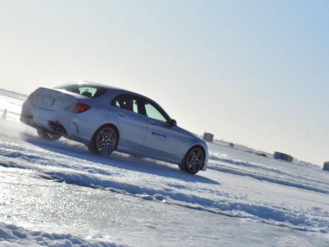 La conduite hivernale, façon Mercedes-AMG (PHOTOS)