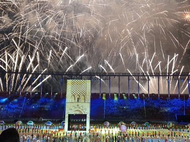 Retour en images sur la cérémonie d'ouverture des Jeux africains