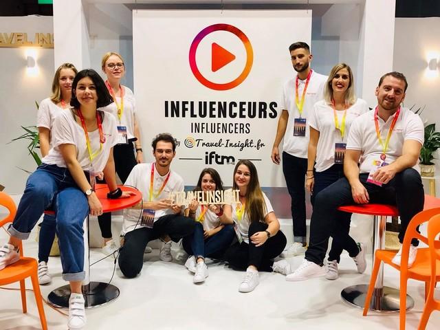 IFTM Top Résa : Travel Insight renouvelle le Village des Influenceurs
