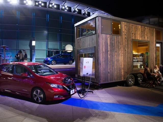 La Nissan LEAF pourra bientôt alimenter votre maison en énergie
