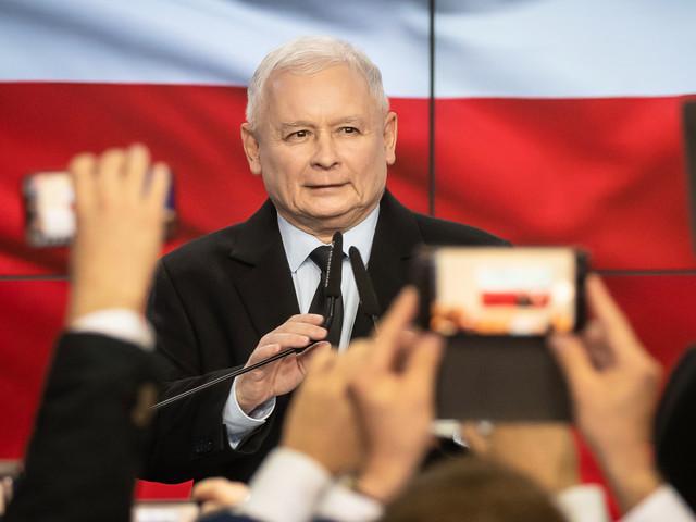 Elections en Pologne : les conservateurs en tête