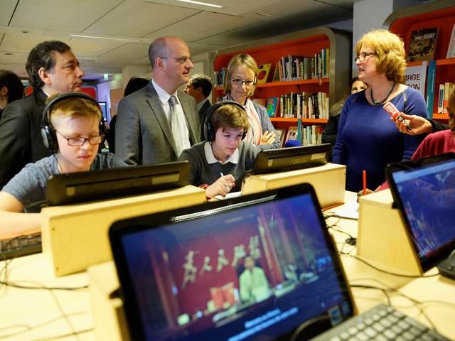 La 29e Semaine de la presse et des médias dans l'école® est lancée - actu en images