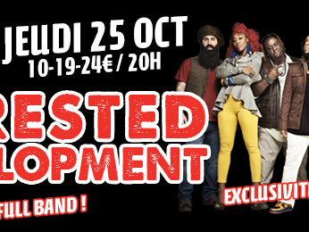 2X2 places pour Arrested Development au Plan à Ris Orangis