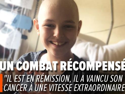 Le parcours du combattant d'une maman solo avec un enfant de 12 ans atteint d'un cancer rare: le lymphome de Burkitt