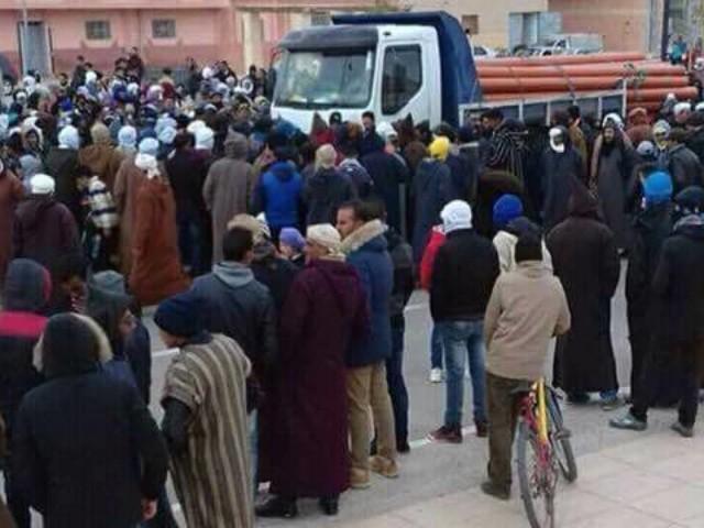 À Tendrara, les habitants revendiquent la libération des manifestants détenus (TÉMOIGNAGE)