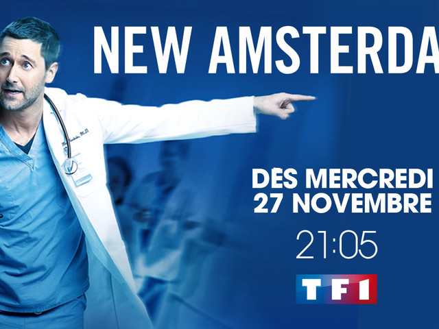 """TF1: La nouvelle série médicale """"New Amsterdam"""" débarque dés le 27 novembre"""