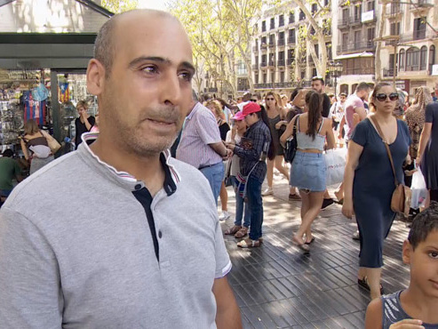 """Abdallah, victime de l'attentat de Bruxelles, prenait ses premières vacances près de Barcelone: """"Tout ce que je commençais à oublier..."""""""
