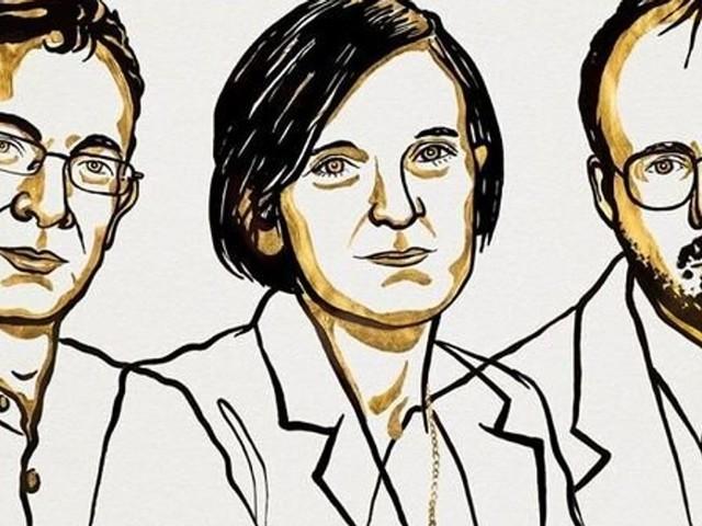 Le Nobel d'économie 2019 décerné à Abhijit Banerjeee, Esther Duflo et Michael Kremer