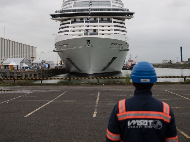 Les chantiers de Saint-Nazaire reçoivent une commande de 2 milliards d'euros