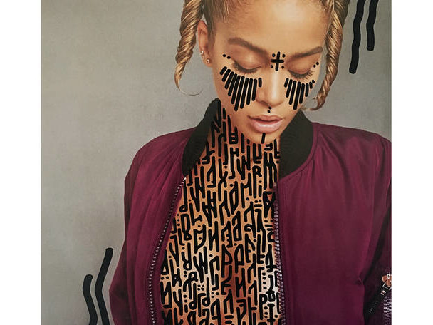 Mesmerizing Typography on Fashion Photographs