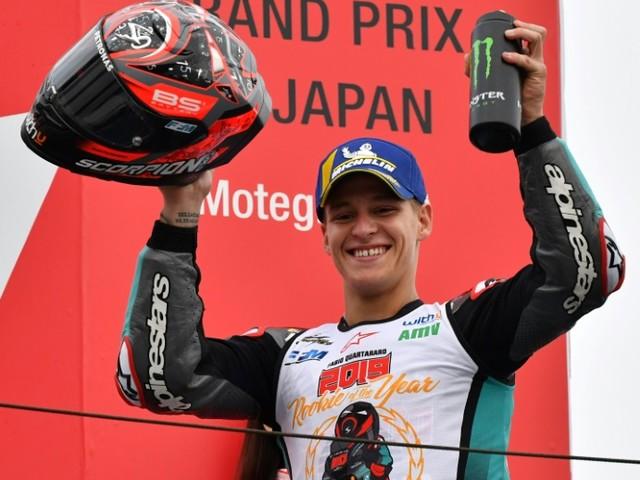 """MotoGP: Marquez gagne et égale Doohan, Quartararo devient """"rookie of the year"""""""