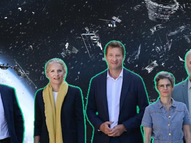 Primaire écologiste: les candidats veulent remettre la Terre au centre de l'espace