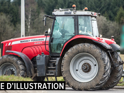Une fillette d'un an et demi meurt écrasée par le tracteur de son père près de Nantes