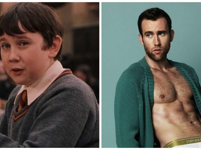Top 10 des personnages de Harry Potter avant/après, 7 ans d'école ça transforme