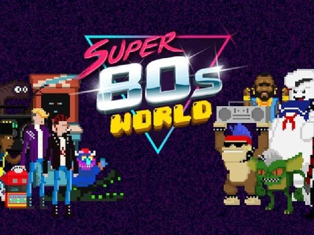 Super 80s World : un platformer en forme d'hommage absolu aux années 80 (sortie App Store)