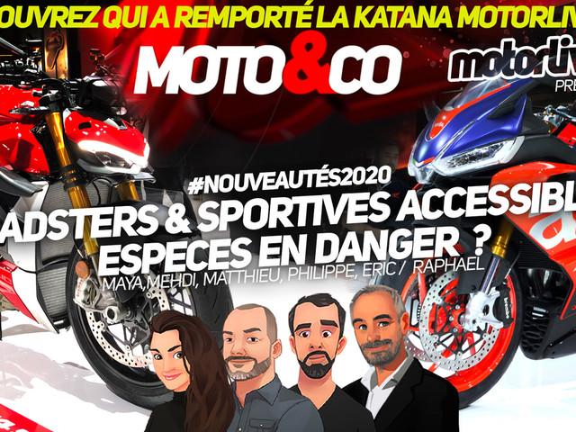 Moto&Co spéciale nouveautés 2020 : roadsters et sportives accessibles, des espèces menacées ?