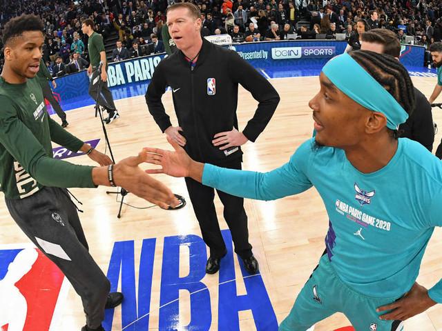 En images : grande première réussie pour la NBA à Paris