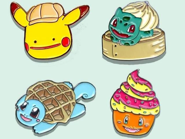 [TOPITRUC] Des pin's Pokémon croisés avec de la nourriture