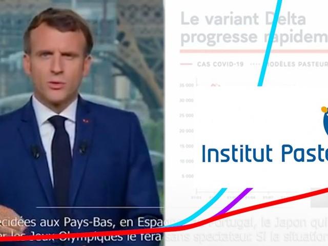 Covid: ce que dit l'étude de l'Institut Pasteur citée par Macron qui décrit la 4e vague