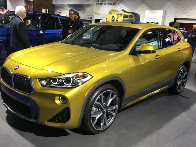 Première canadienne : BMW X2 2018, malgré son nom, plus petit qu'un X1!
