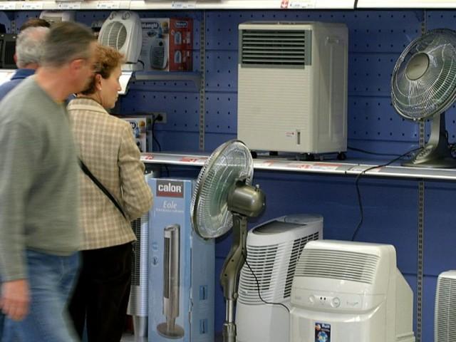 La canicule arrive : ruée sur les climatiseurs et les ventilateurs