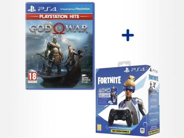 God of War + 1 manette à seulement 50€, un bon plan PS4 à saisir d'urgence
