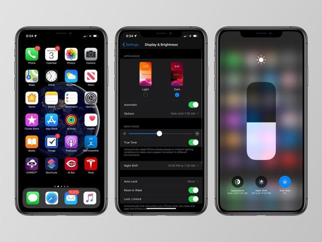 Présentation d'iOS 13 sur votre iPhone