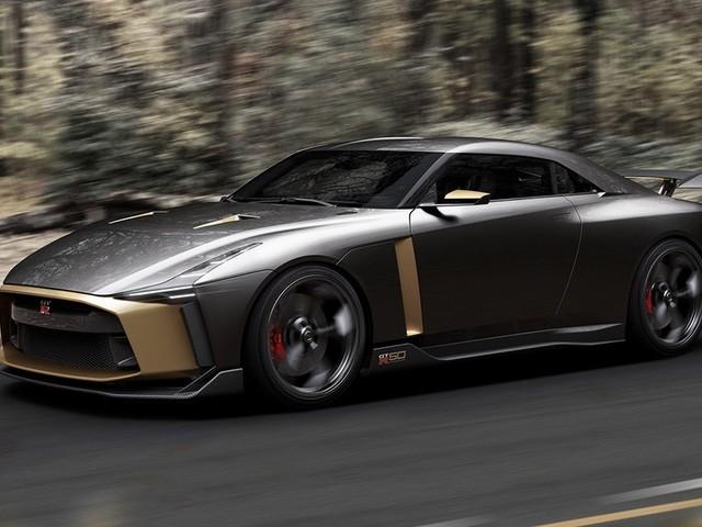 Nissan GT-R50: la tournée mondiale continue au Rolex Monterey Motorsports Reunion