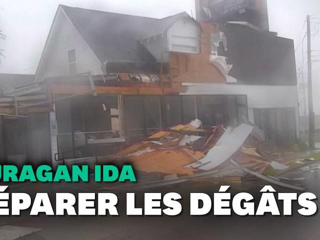 En Louisiane, l'ouragan Ida laisse derrière lui un paysage de désolation