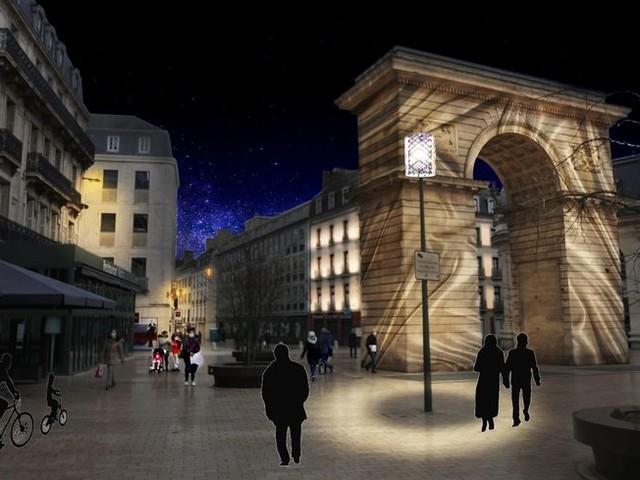 Dijon : un projet de mise en lumière des monuments du centre ville pour la fin 2022