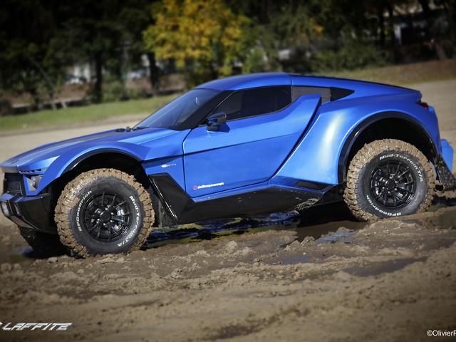 Lafitte G-Tec X-Road, les photos de cette supercar qui n'a pas peur de la boue