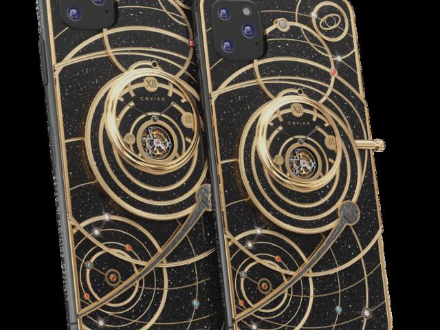 Caviar dévoile des iPhone 11 cosmiques